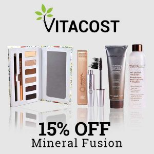 15% Off Mineral Fusion Makeup & More
