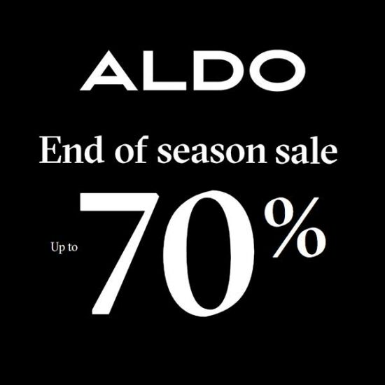 Up to 70% Off in End of Season Sale