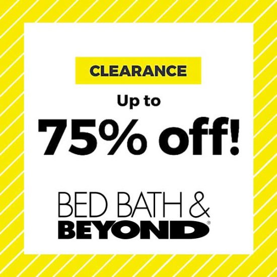Clearance: Up to 75% Off