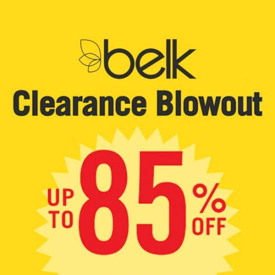 Up to 85% Off Clearance Blowout + Extra 10% Off