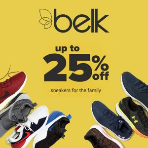 Up to 25% Off Sneakers for the Family