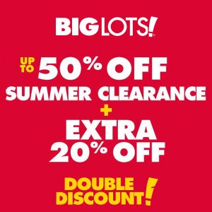 Up to 50% Off Summer Clearance + Extra 20% Off