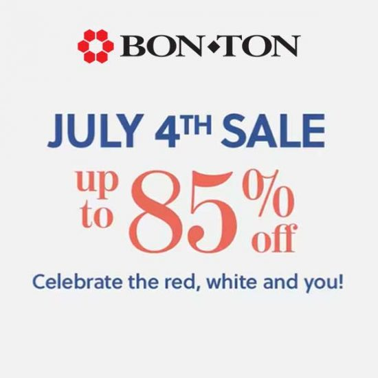July 4th Sale: Up to 85% Off