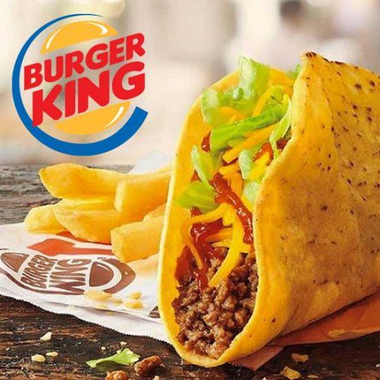 $1 All New Burger King Crispy Tacos