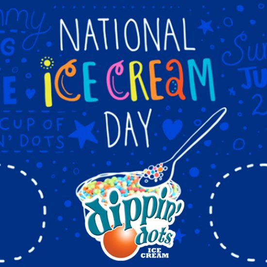 Free Dippin' Dots on National Ice Cream Day