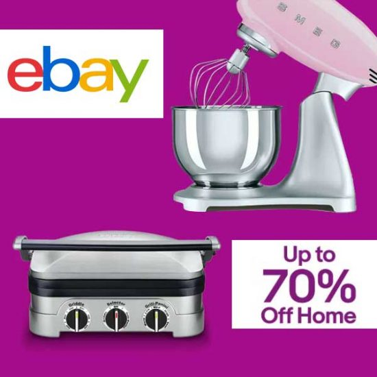 Up to 70% Off Home