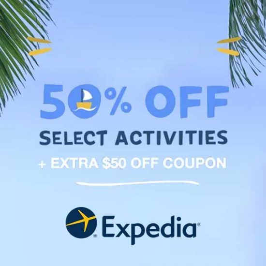 50% Off Select Activities + Extra $50 Off Coupon