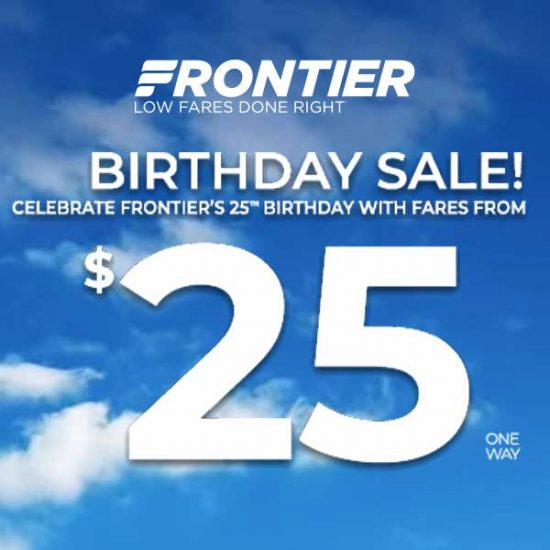Birthday Sale: Fares From $25
