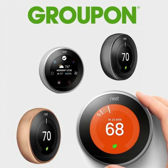 28% Off Programmable Wi-Fi-Enabled Learning Thermostat