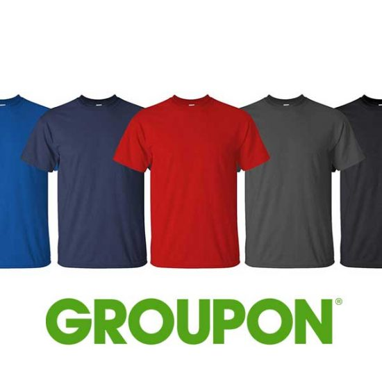 41% Off 5-Pack of Men's 100% Cotton T-Shirts