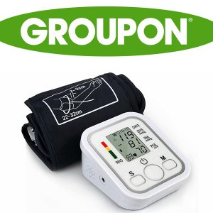 86% Off Digital Upper Arm Blood Pressure Cuff Monitor