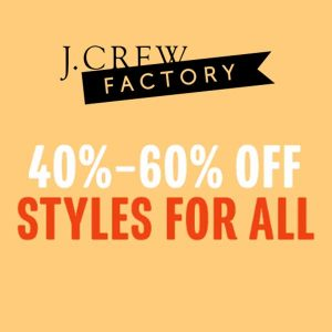 40% to 60% Off Styles For All