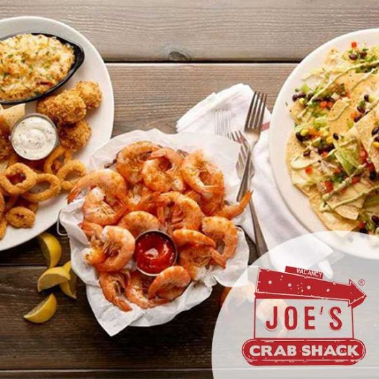 Free Appetizer for Joining Joe's Catch