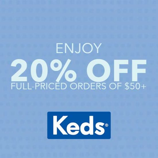 20% Off Full Priced Purchase