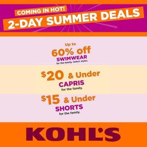 2 Days Summer Deals
