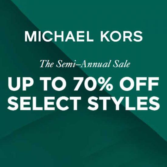 Semi Annual Sale: Up to 70% Off Select Styles