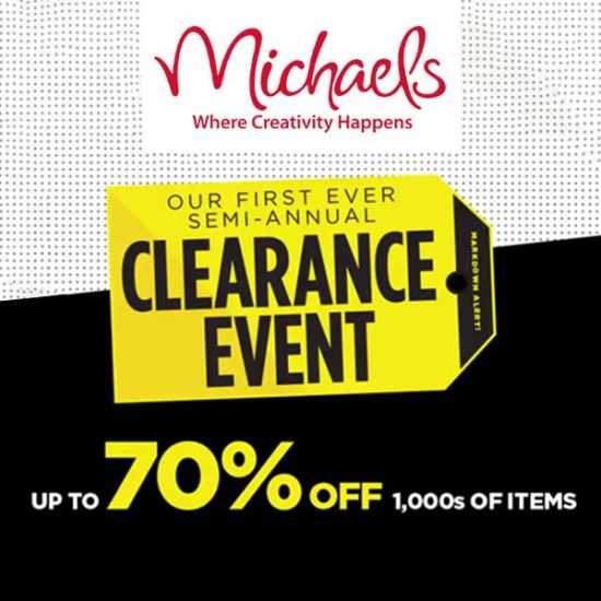 Clearance Event: Up to 70% off 1000s of Items