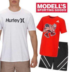 Shorts and Tees Under $25