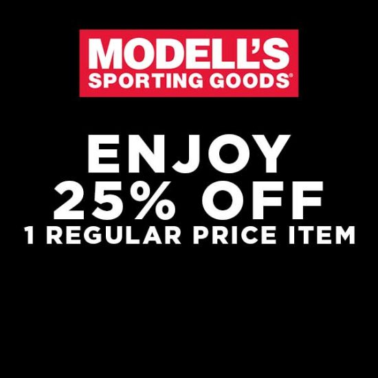 25% Off One Regular Price Item with Code