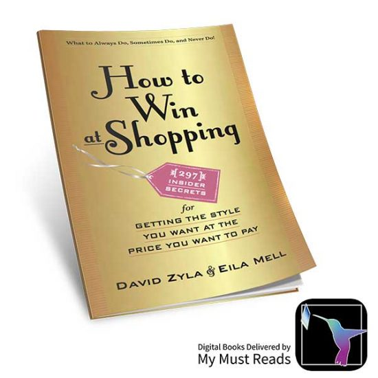 38% Off How to Win at Shopping E-Book