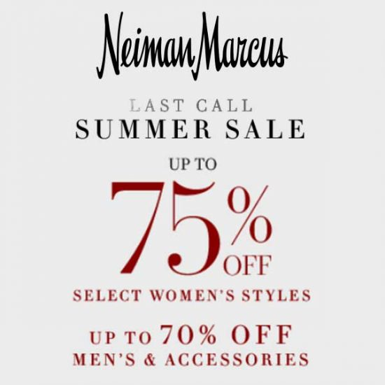 Up to 75% Off Women's Styles + Up to 70% Off Men's