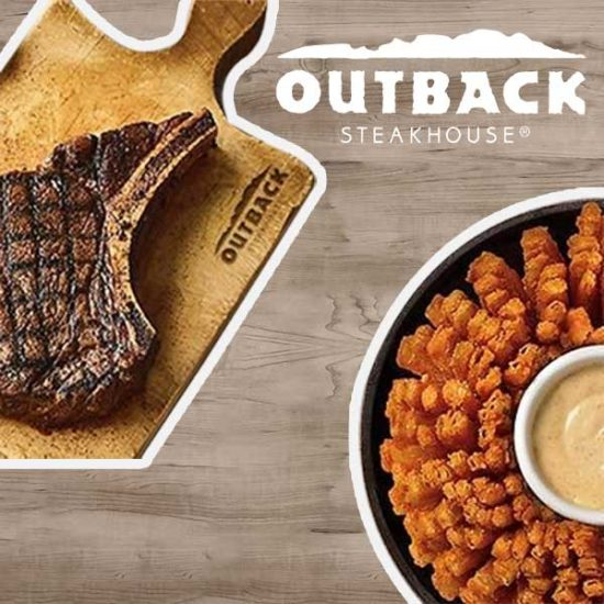 $5 Off Outback Steakhouse Two Adult Dinner Entrees