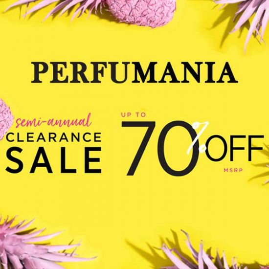 Up to 70% Off Clearance Perfumes