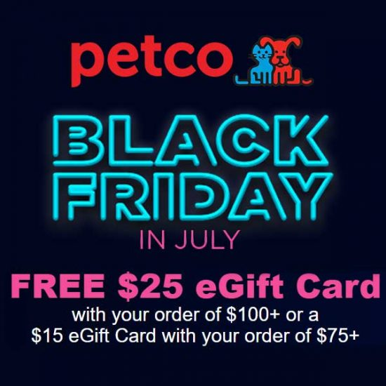 Free E-Gift Card Worth Up to $25 With $75+ Orders