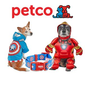 Buy 1, Get 1 50% Off Marvel Pet Fans Collection
