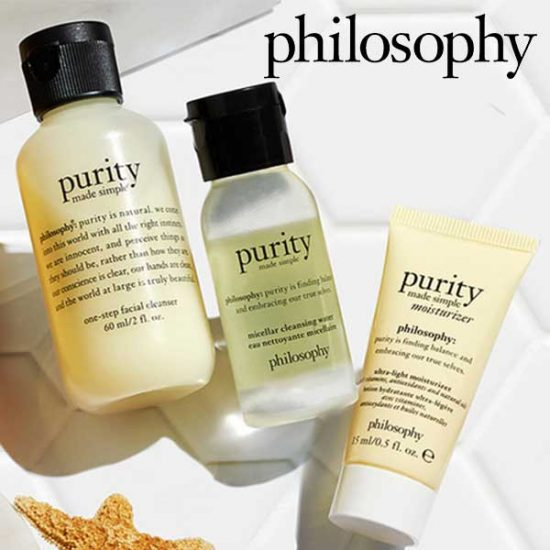 Free 3-Piece Purity Travel Set
