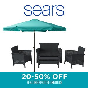 20% to 50% Off Patio Furniture