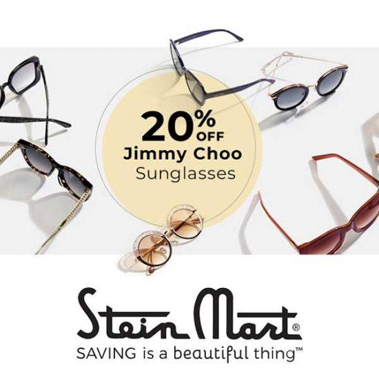 20% Off Jimmy Choo Sunglasses & Readers