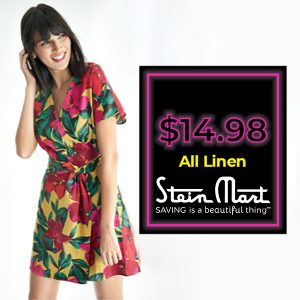 $14.98 Linen Clothing for Women