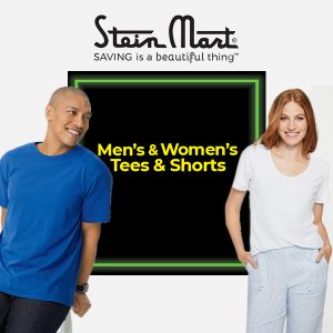 $9.98 Men's and Women's Tees and Shorts