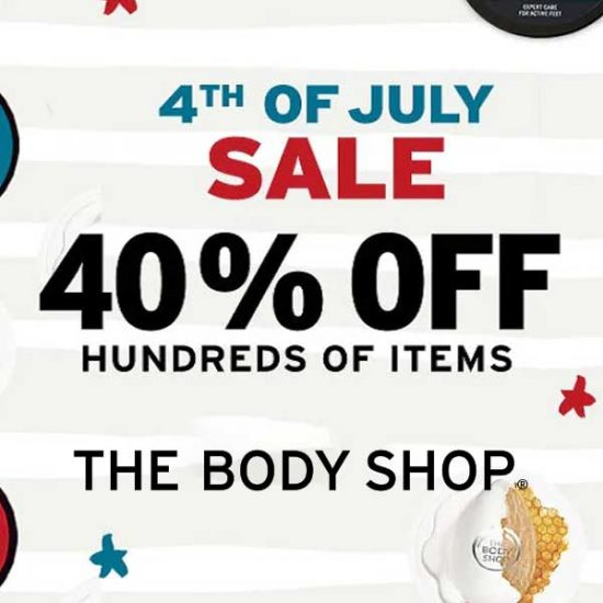 4th of July Sale: 40% Off Hundreds of Items