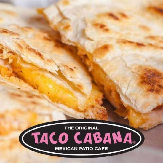 Free Small Quesadilla for Joining E-Club