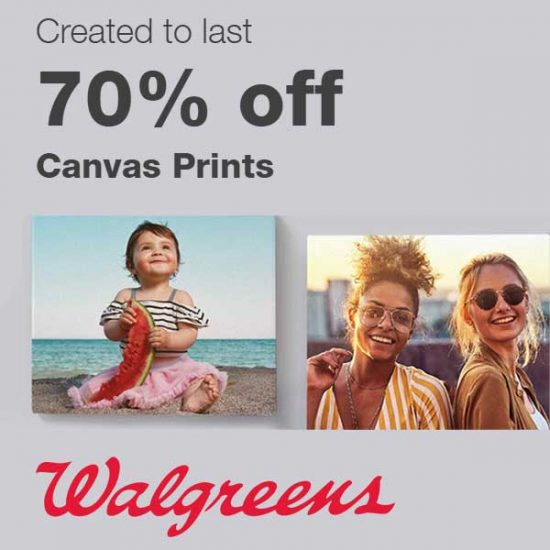 70% Off Canvas Prints w/ Code