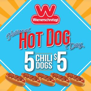 5 Chili Dogs for $5