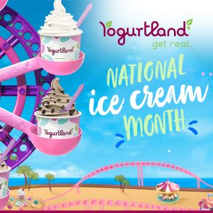 Buy 1, Get 1 Free Ice Cream for National Ice Cream Day