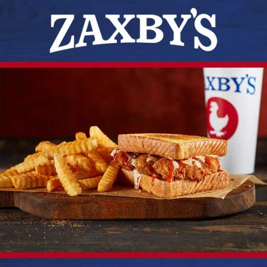 Free Sandwich Meal for Joining the Zax Email Club