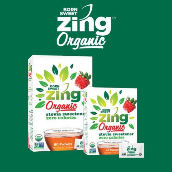 Free Sample of Organic Stevia Sweetener