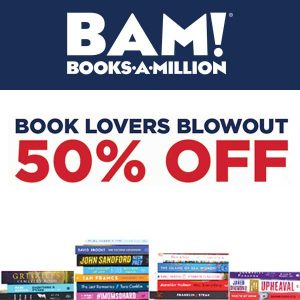 50% Off Hundreds of Books In Stores and Online