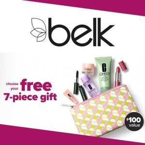 Free 7-Piece Gift With Any $29 Clinique Purchase