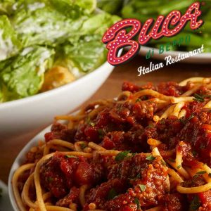 Buca Family Feast Starting at $9 Per Person