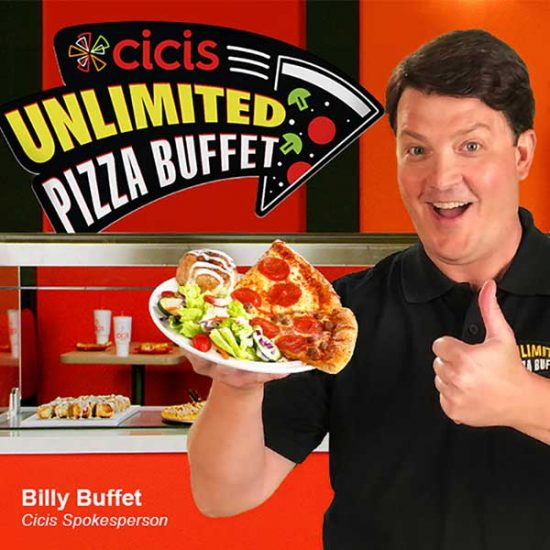 Unlimited Pizza Buffet Starting at $5.99