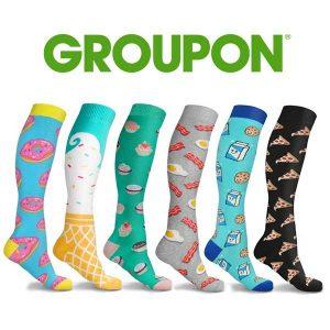 83% Off Fun and Expressive Unisex Compression Socks