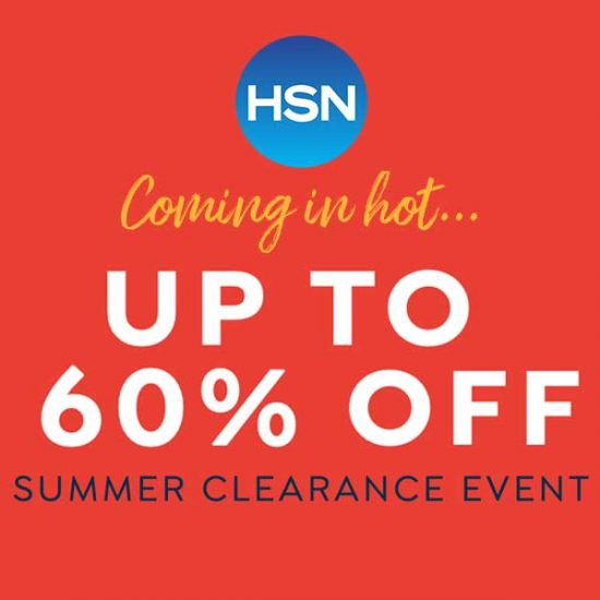 Up to 60% Off Summer Clearance Event