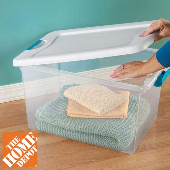 Sterilite Storage Bins Starting at $4.98