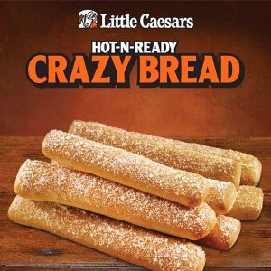 Free Crazy Bread with Any Pizza Purchase