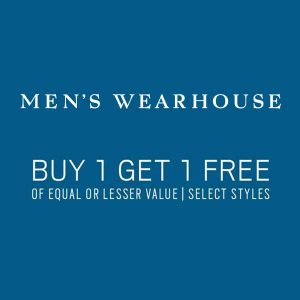 Buy 1, Get 1 Free Suits and Sports Coats